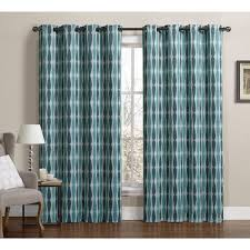 vcny monsoon grommet top blackout curtain panel pair by vcny