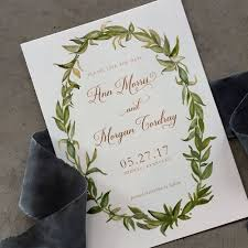 save the date envelopes watercolor greenery save the date cards with envelopes cardinal