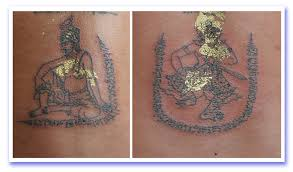 sak yant thai temple tattoos sak yant buddhist temple tattoos