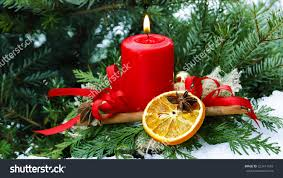 christmas candle stock photo 223411543 shutterstock