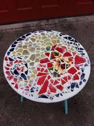 Diy Mosaic Table Creative Diy Items With Mosaic Decor