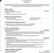 Recent Graduate Resume Sample Nursing Resume For New Graduate New Graduate Nursing Resume