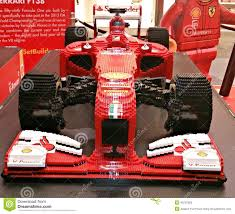 ferrari f1 lego ferrari sports car made of lego editorial stock photo image