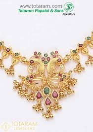 earrings necklace images 22k gold peacock ruby emerald gundumala necklace drop earrings set jpg
