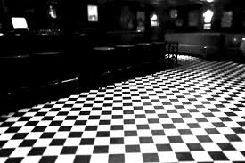 Black And White Checkered Inspiring White And Black Interior Furnishings Ideas With