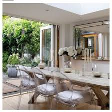 Perspex Dining Chairs Dining Room Table With Perspex Chairs Search Home And