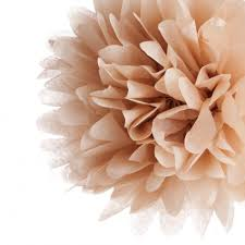 10 kraft tissue paper pom pom dmc7338l wholesale wedding