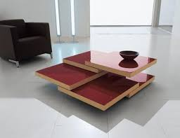 Unique Living Room Tables Unique Shape Stacking Coffee Table Design Minimalist Home