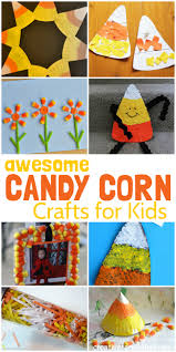 halloween candy corn crafts for kids candy corn crafts homemade