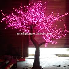 2 5m large artificial led decorative tree l outdoor warm white