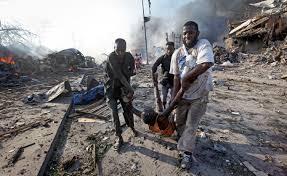 the latest red cross says 4 volunteers dead in somali blast