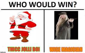 Magician Meme - thicc jolli boi wise magician meme