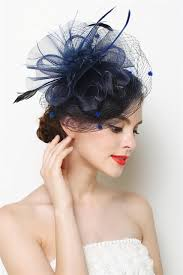fascinators hair accessories mini hat fascinator feather flower hair clip wedding hats and