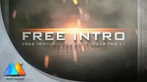 steel intro free intro template sony vegas pro 11 youtube