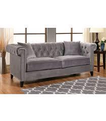 sofas victoria velvet sofa grey