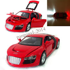 Audi R8 Models - for red audi r8 1 32 mini toy vehicles alloy diecast model kids