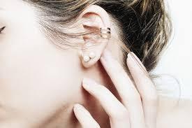minimal earrings moiminnie dainty earrings