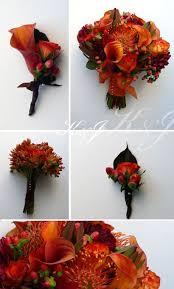 Wedding Flowers Fall Colors - best 25 fall wedding bouquets ideas on pinterest fall wedding