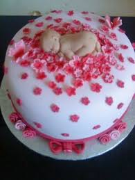 fondant baby shower cake topper first by babycakesbyjennifer