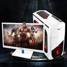 pc ordinateur de bureau 22 24 pouce lcd écran i5 3570 ordinateur de bureau de jeu pc design