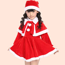 high end halloween costumes for kids aliexpress com buy christmas day kids girls christmas sets santa