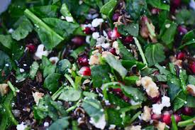 rice for thanksgiving pomegranate wild rice salad culinary mamas