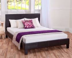 cheap king size leather bed with mattress home beds decoration