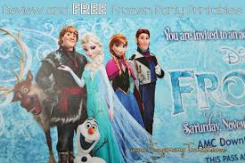 disney u0027s frozen party printable set free