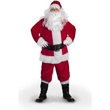 santa claus costume sunnywood value line santa claus costume walmart