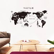 bedroom stunning wall decals for ideas stickers 2017 with big large black world map wall decals and decor stickers for living 2017 including big bedroom pictures