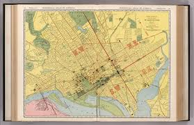 Map Of Washington Dc by Washington D C David Rumsey Historical Map Collection