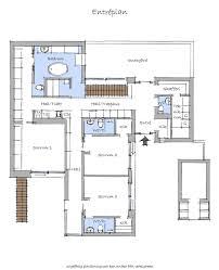 Beach Floor Plans Floor Plan Blueprint Groundfloor Of The Nilsson Villa Modern Beach