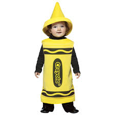 yellow crayola crayon toddler costume buycostumes com