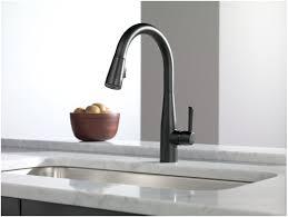 faucet com 9113 bl dst in matte black by delta