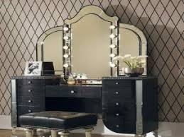 Vanity Mirror With Lights For Bedroom Contemporary Ideas Makeup Vanities For Bedrooms With Lights Making