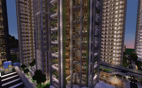 New York Minecraft Map by Downtown New Crafton Finished Minecraft Project