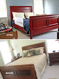 Painted Bedroom Furniture Before And After by A Furniture Makeover For Your Monday Design Lines Ltd