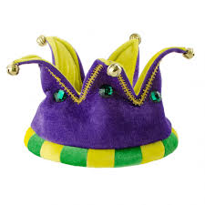 mardi gras crown whimsical velvet mardi gras crown with bells 26697mgao
