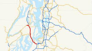 Seattle Sounder Train Map by Washington State Route 16 Wikipedia