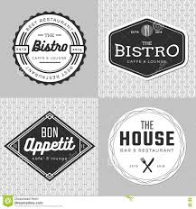 set of badges banner labels and logo for food restaurant
