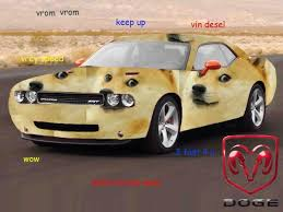 Doge Car Meme - doge car meme shibe doge meme landed a big gig with the dodge car