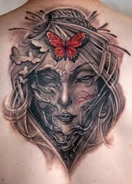 creepy butterfly by johan finne tattoonow