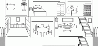 rooms in the house rooms coloring pages wallpaper