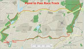 New York City Marathon Map by The Race Paine To Pain Trail Half Marathon Paine To Pain Trail