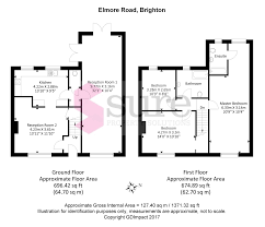 32 Sq M To Sq Ft 3 Bed End Terrace House For Sale In Elmore Road Brighton East