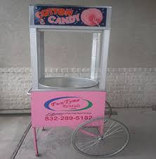 cotton candy rental funtyme rentals cotton candy machine in houston