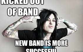 Falling In Reverse Memes - kicked out of band new band is more succesful ronnie radke