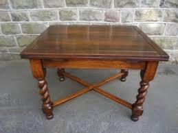 antique draw leaf table barley twist table elegant antique oak draw leaf extending dining
