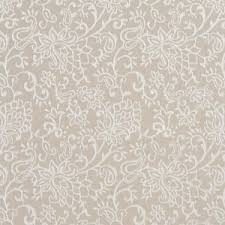 Traditional Upholstery Fabrics Beige Traditional Paisley Jacquard Woven Upholstery Fabric By The
