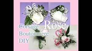 how to make corsages and boutonnieres how to make easy boutonniere corsage